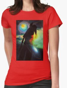The Explorer Womens Fitted T-Shirt