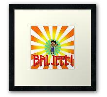 baljeet Framed Print