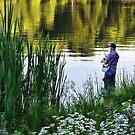 fishing is fun by vigor