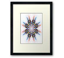 Floroscope 01 Framed Print