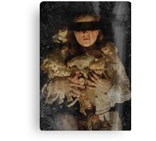 Whispers in the dark Canvas Print