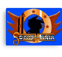 Sonic Mania. Showcase of the Fast. Canvas Print