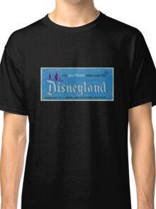 Vintage Disneyland, Vintage Poster Classic T-Shirt