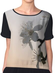 On an evening in Spring... Chiffon Top