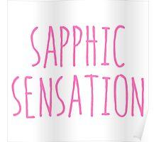 SAPPHIC SENSATION Poster