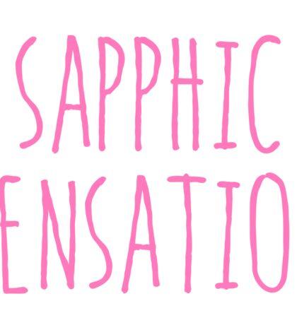 SAPPHIC SENSATION Sticker