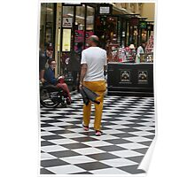 Yellow pants are in fashion Poster