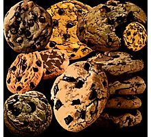 Chocolate Chip Cookies Photographic Print