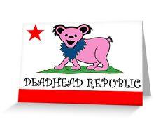 Deadhead Republic Greeting Card