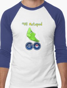 011 Metapod GO! Men's Baseball ¾ T-Shirt