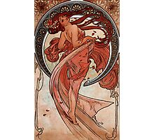 'Dance' by Alphonse Mucha (Reproduction) Photographic Print
