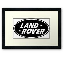LAND ROVER Framed Print