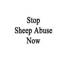 Stop Sheep Abuse Now by supernova23