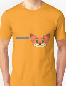 Its Called a Hustle Sweetheart Nick Wilde Unisex T-Shirt
