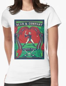 DEAD AND COMPANY TOUR IN FENWAY PARK,BOSTON,MA Womens Fitted T-Shirt