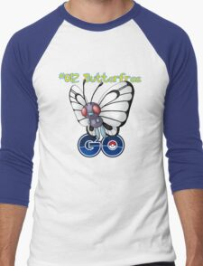 012 Butterfree GO! Men's Baseball ¾ T-Shirt
