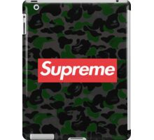 supreme iPad Case/Skin