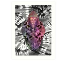 Color Zen Tie Dye Art Print