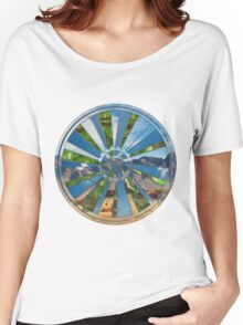Bike Mandala  Women's Relaxed Fit T-Shirt