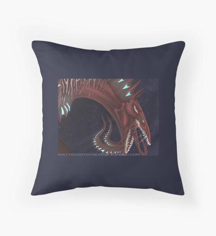 Mamba-Core Throw Pillow