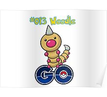 013 Weedle GO! Poster