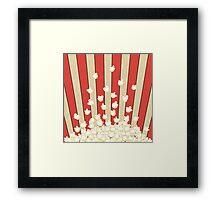 Popcorn Pop Art Framed Print
