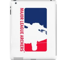 Major League Archers iPad Case/Skin