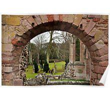 Abbey View, Scotland Poster