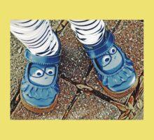 Blue Shoes Kids Tee