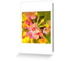 Sun-kissed Floral Greeting Card