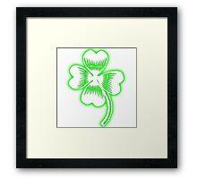 shamrock Framed Print