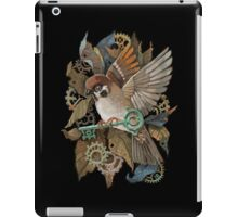 Clockwork Sparrow iPad Case/Skin