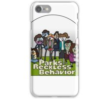 Parks and Reckless Behavior iPhone Case/Skin