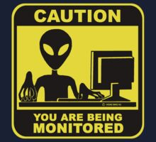 Caution! you are under monitor Kids Clothes