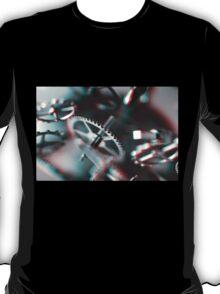 Exploding Clockwork #1 (3D) T-Shirt