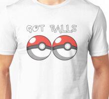 Pokemon Balls - Got Balls Unisex T-Shirt