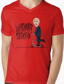 vladimir scootin Mens V-Neck T-Shirt