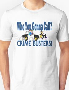 Crime Busters Unisex T-Shirt