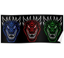 The Dragon Brothers Three Poster