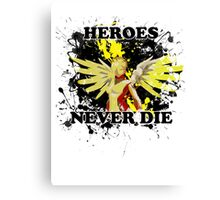 Mercy - Heroes Never Die Canvas Print