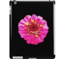 Pink Flower, Comic Book Halftone iPad Case/Skin