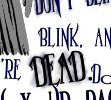 Blink Sticker