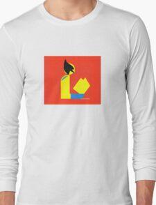Gentleman Wolvereads Long Sleeve T-Shirt
