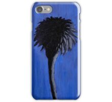 Black and Blue Palm Trees iPhone Case/Skin