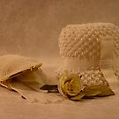 Mothers White Hat by Sandra Foster