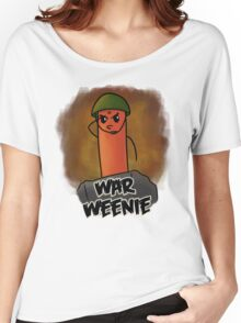 War Weenie - The Hot Dog Hero Women's Relaxed Fit T-Shirt