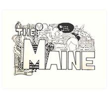 The Maine Art Print