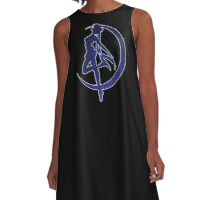 Galaxy Sailor Moon A-Line Dress