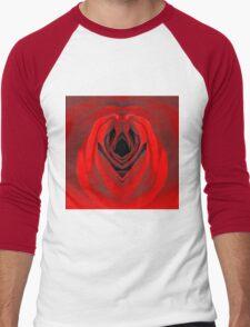 Rose is a Rose Men's Baseball ¾ T-Shirt