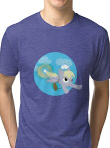 Sonic Derpyboom Tri-blend T-Shirt
